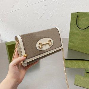 Luxurys Designers Top Quality Senhoras 2021 Bolsa De Ombro Bolsa Mulheres Moda Mãe Handbags Correntes Bags Cossbody totes Marca Temperamento Embreagem Carteira Carteira