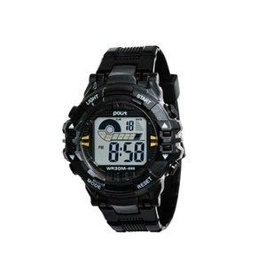 Poly new student waterproof men's black gold luminous anti falling wear-resistant gift children's Watch