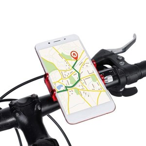 Aluminum Alloy Bike Phone Holder Bicycle Cell Phone Mount Handlebar Holder for Phone Xs Xr X 8 7 for Samsung S9 8 Xiaomi