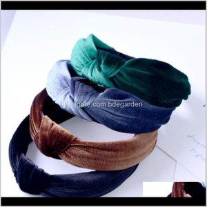 Saç Takı Bırak Teslimat 2021 Düğümlü Bantlar Kafa Bandı Parti Doğum Günü Hediyeleri Sarı Yeşil Siyah Gri PS2422 W53X1
