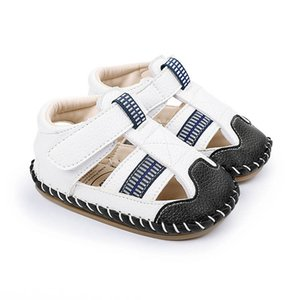 Infant First Walkers Kids Shoes Toddler Baby Boys Child Summer Leather Moccasins Soft Girls Sandals 0-12M B4987