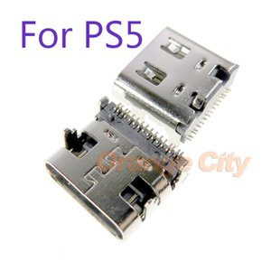 Micro USB Charging Port Plug Power Connector Type-C Charger Socket for PlayStation 5 Dualshock Wireless PS5 Console