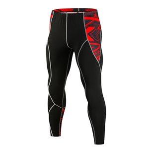 الرجال ضغط الجوارب طماق تشغيل الركض الرياضة السراويل رياضة اللياقة البدنية تجريب الذكور mma اللياقة البدنية سريعة الجري الجري السراويل R0417