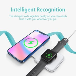Wireless Chargers 15W Magnetic Wireless Chargers Pad For Apple iPhone 12 Mini 11 Pro XS Max PD Fast Charge For AirPods Pro Charger