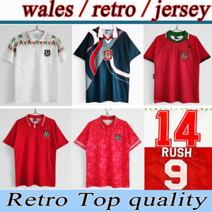 1994 1995 1996 Уэльс Ретро Футбол Джерси 95 96 Giggs Hughes Saunders Rush Speed Reping Classic Football