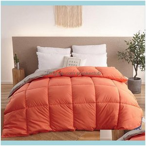 Comforters Sets Bedding Supplies Textiles Home & Gardenwinter Duvet, Extra Large Duvet 150X200, 180X220 Drop Delivery 2021 Tevaz