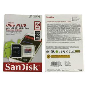 32GB 64GB 128GB SDK Micro SD Card PC C10 TF Memory Cards Camera SDXC Storage 100MB Speed