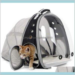 Cat Carriers,Crates & Houses Supplies Pet Home Garden Expandable Carriers Backpack Space Capsule Transparent Bubble Portable Carrier F