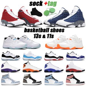 13s men basketball shoes jumpman 13 red flint black cat 11s legend blue concord 1s mens sports sneakers
