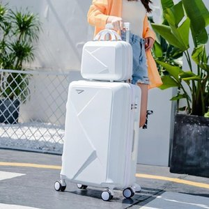 Mother Child Password Increase 24 Inch Trunk Dowry Box Brake Wheel Suitcase Business Travel Residence