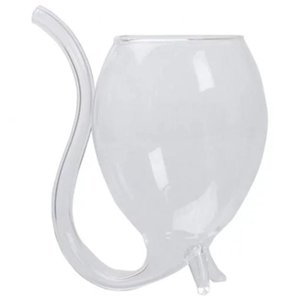 Wine Glasses Whiskey Glass Heat Resistant Sucking Juice Milk Cup Tea For Bar Home Party Drinkware Tool Accessiores
