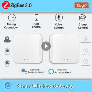 Smart Home Control Tuya ZigBee Gateway Bridge Hub Mini Switch Wireless Remote Two Way Timer DIY
