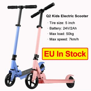 [EU in Stock ] Q2 Foldable Smart Scooter Skateboard 7km 24v 2ah 5 inch Electric Scooters for Kids