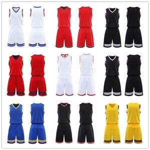 ¡Calidad superior! 2021 Equipo de baloncesto Jersey Men Pantaloncini Da Basket Sportswear Ropa de correr Blanco Negro Negro Púrpura Verde 11