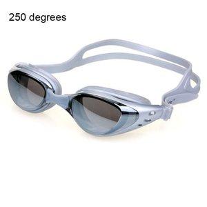 Myopia de silicona profesional Gafas de natación Gafas de natación UV para hombres Mujeres Dioptrías Sports Eyewear QYLCTF YYYSPORTS