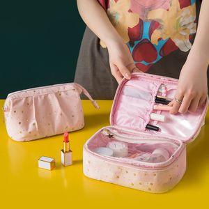 Women's ette Cosmetic Bag Travel Hand Wash Veet Storage UK NXNF804