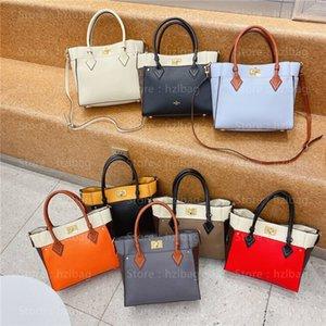 On My Side MM tote bags M53823 Twist calfskin Purse cross-body carry practical Business Shopping Bag women designer handbags