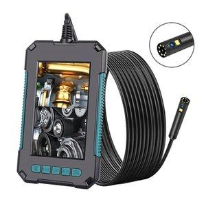 "Industrial Endoscope Single & Dual Lens Camera Borescope 1080P HD 4.3"" IPS Screen IP68 Waterproof LED Lights"