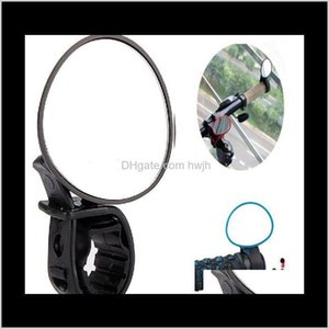 Outdoor Gadgets Wholesale Arrival Black Adjustable 360 Degree Rotate Rear View Mirror Bicycle Road Bike Handlebar Kehid O8Bfn