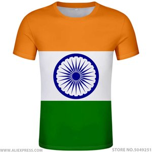 polo shir India Name No Ind T-shirt Photo Clothing Print Diy Free Custom Made Natie Flag Hindi Country Republic of Indian jersey