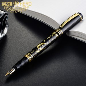 Pens Hero 9063 bajuntu art calligraphy engraving