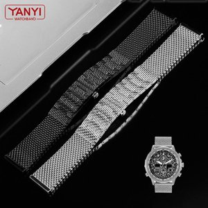 High Quality Milan Mesh Stainless Steel Bracelet For JY8037 JY8031 CB5848 8040 Watch Strap Mens Luxury 22mm Watchband Bands