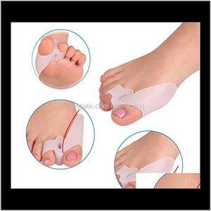 Foot Feet Care Gel Finger Beetlecrusher Bone Ectropion Stretchers Bunion Protector Straightener Corrector 5Sxx3 W1Xs3
