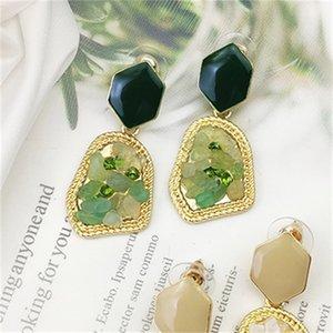 Crystal Drop Earrings For Women Alloy Dangle Earring Fashion Jewelry 2897 Q2