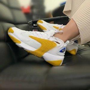[Com caixa] 2021 de alta qualidade homens mulheres zoom 2k corrida sapatos mulheres m2k tekno triplo branco verde cinza cinza azul oxigênio roxo 2000 estilo respirável esportes sneakers # 2000s