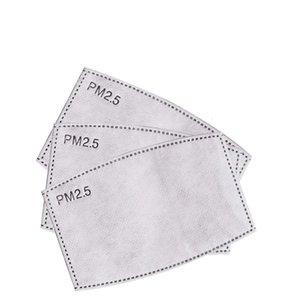 PM2.5 Filtro de máscara para niños adultos de cinco capas polvo de carbón activado
