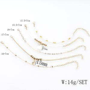 Gioielli Altri braccialetti European Bohemian Rice Bracelet Bracciale conchiglia conchiglie nappa