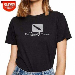 T-shirt mulheres dan o canal alt chapéu hip hop vintage festa feminina festa feminina # bx3r