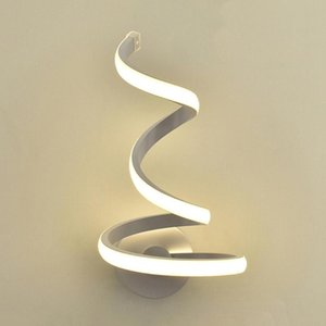 Wall Lamps LED Nordic Style Bedroom Creative Lights Living Room Lighting DIY Indoor Lamp Warm White Cold White Light