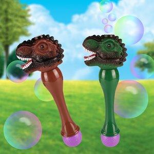Vibro Tiktok, Red Full Automatic Electric Bubble Stick Toy Machine Dinosaur