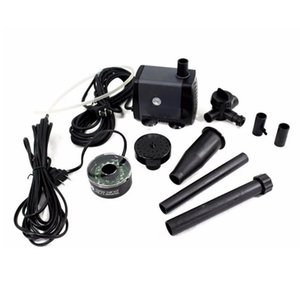 40W 45W Changing LED Aquarium Low Pressure Submersible Pump Garden Fish Pond Fountain Pump Led Lighting Fountains