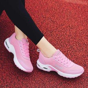 2019 летние новая сетка воздушная подушка женская обувь корейский универсальный случайные моды шнурок спортивные RPZs