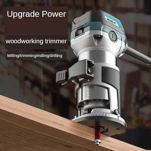 Power Tool Sets Trimming Machine Woodworking Slotting Hole Cutting Decoration Multifunctional Engraving