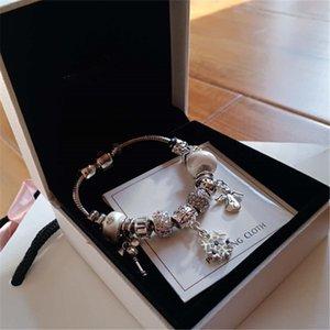 도라 럭셔리 여성 팔찌 디자이너 쥬얼리 스트랜드 숙녀 팔찌 페르시 뱀 체인 브랜드 매력 합금 다이아몬드 원래 상자