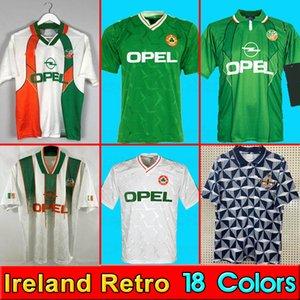Ireland soccer jersey 1988 1990 1992 1994 1995 1996 maillots de football shirt rétro Irlande Maillot de foot Maillots de l'équipe nationale 90 93 de du monde tasse de la equipe