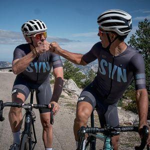 Biehler 2021 الدراجات جيرسي دعوى الرجال قصيرة الأكمام الترياتلون mtb سباق الدراجة الملابس الصيف تنفس مريلة السراويل دراجة مجموعة مجموعات