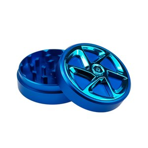 Good Quality Herb Grinder 65*26mm Aluminum Alloy 116g Two Parts Smoking Accessories 2 Layers Tobacco Grinders