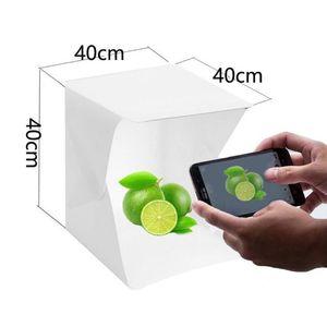 Mini Photostudio Photo Studio Box Photography Backdrop Built-in Light Photos Boxes Little Items Photography Box Studio Accessories