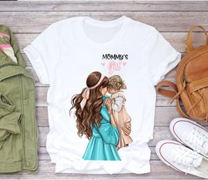 SIZE S-4XL 2021colorful butterfly Red Lip T-Shirt Cartoon Super Mom Life Momlife Summer Print Lady T-shirts Top T Shirt Ladies Womens Graphic Female Tee TShirt.2PCS