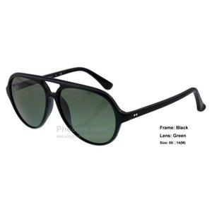 Солнцезащитные очки старинные пилотные стиль Cat5000 Acetate рамка стекло объектив зеркало градиент 59 размер унисекс летнее платье мода