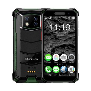 Soyes S10MAX 4G LTE Face Unlocked Fingerprint Smart phone 4GB 64GB 128GB 3800mAh Mini cellphones NFC PTT Waterproof Androrid Mobile Phones for USA Europ Russia Asia