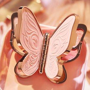 Eye Shadow Eyeshadow Palette Butterfly Eyes Lucky Koi Pearl Sequins Glitter Matte Makeup Plate Shimmer Waterproof 6 Colors