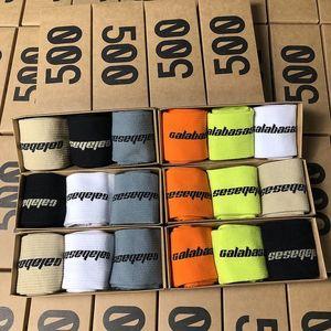 (Boxed) Men's socks SEASON 6 CALABASAS three-color socks, long tube sports socks, men's and women's cotton socks