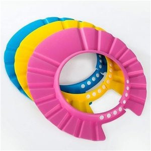 Children's shampoo waterproof ear protection 1-3-4-5-6-10 years old baby shower cap