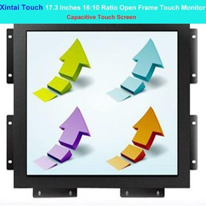 Xintai Touch 17.3 Inches 16:10 Ratio Capacitive Screen Industrial Open Frame Monitor Resolution (1366*768) Monitors