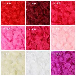Other Accessories 200pcs Silk Rose Petals For Wedding Decoration Romantic Artificial Flower